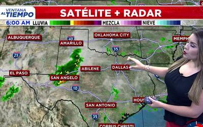 'Dallas en un Minuto': posibles aguaceros y tormentas, el pronóstico del...