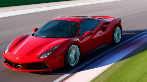Ferrari cuenta actualmente con el 488 GTB en sus filas, la versió...