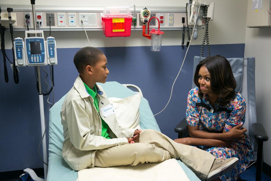 Michelle Obama en los ojos de su fotógrafa personal 16786937242-1703607c...