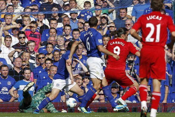 Everton aguantó pero el cansancio pudo más y finalmente Liverpool consig...