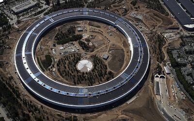 Las nuevas oficinas de Apple, en Cupertino, están casi listas y c...