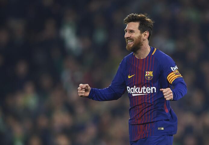 A diferencia de otras temporadas, Messi ha recibido más descanso este año.