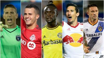 Nominados al Jugador del Mes de agosto de la MLS