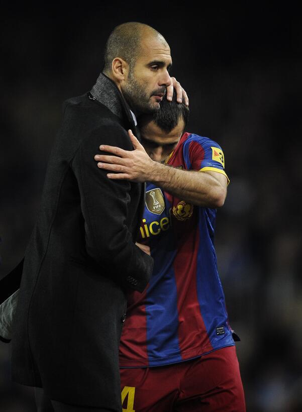 Rápidamente, el 'Jefecito' se ganó el cariño de su entrenador, P...