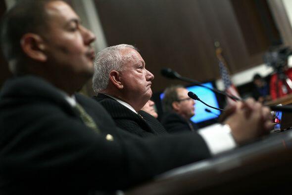 La gobernadora de Arizona, Jan Brewer, llevó el caso ante la máxima cort...