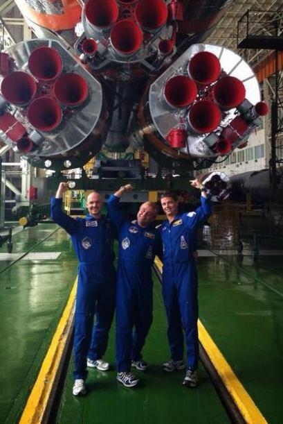 Ried Wiseman es un astronautaestadounidense en su primer misión en el es...