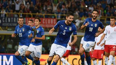 En fotos: Italia rescató el empate, y Rusia ratifica su presente en la UEFA Nations League