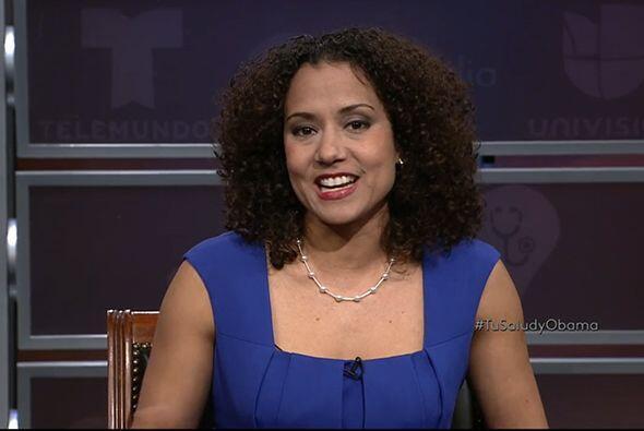 "Annette Raveneu, portavoz de ""Get Covered America""."