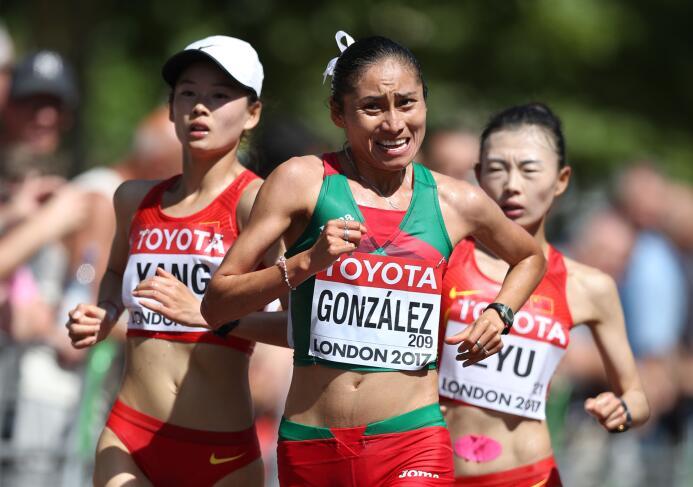 Lupita González, la guerrera del atletismo mexicano GettyImages-83099677...