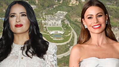 Los Ángeles desde el aire: así se ven las lujosas mansiones de Salma Hayek y Sofía Vergara en helicóptero