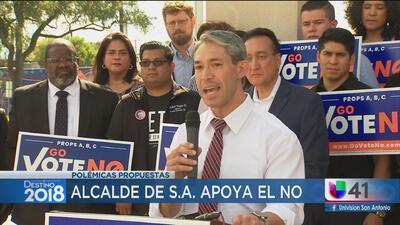 Alcalde de San Antonio pide votar 'No' a propuestas que no benefician a la ciudad