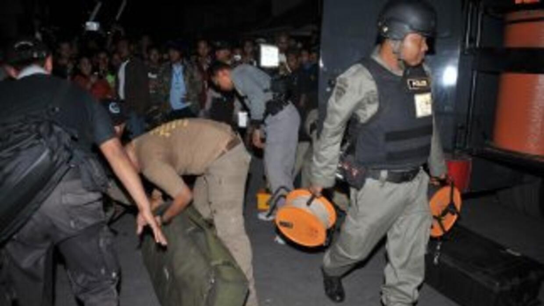 La Policía incautó un artefacto explosivo en la ciudad de Madiun, en el...