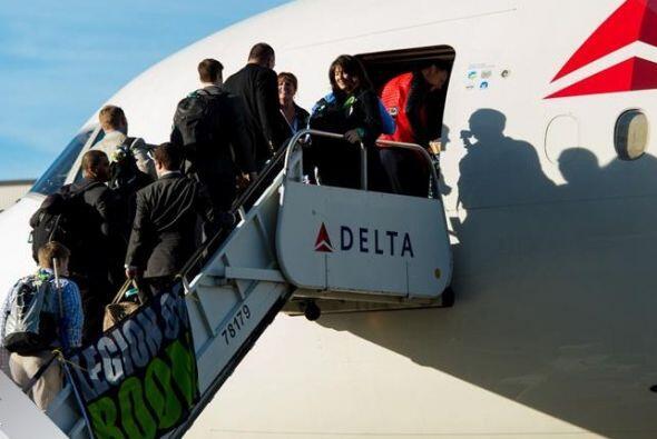 El equipo campeón de la Conferencia Nacional partió rumbo al Aeropuerto...