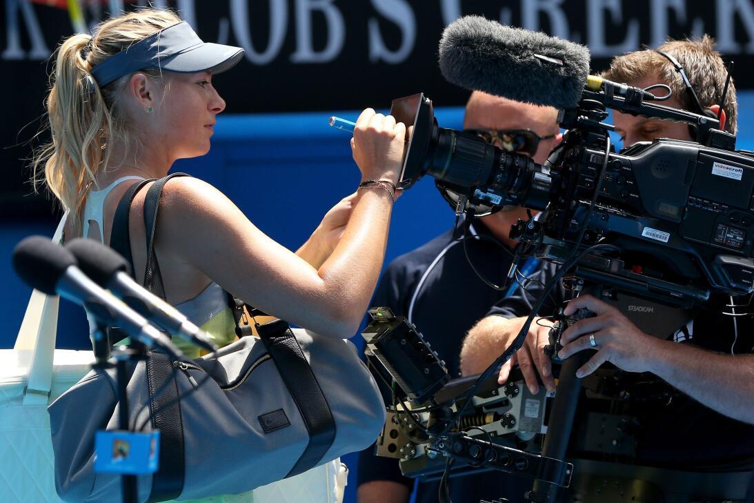 Polémica y expectativa por regreso de María Sharapova al tenis tras su d...