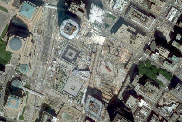 El lugar exacto donde se alzaban las Torres Gemelas se convertirá...