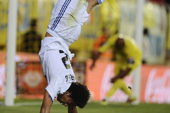 Pero el primero en marcar fue Marcelo, el lateral brasileño.