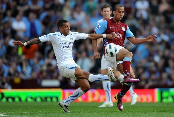 El otro encuentro del día fue el del Aston Villa que recibió al Newcastle.