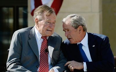Los dos expresidentes muy raras veces emiten comunicados conjuntos.