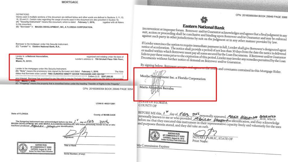 La líder política Alejandra Barrales adquirió el departamento en Miami e...