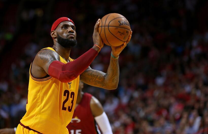 Lebron James, el Rey de Cleveland y la NBA