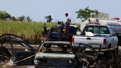En fotos: Mueren 4 personas en una explosión por la toma clandestina de combustible en México