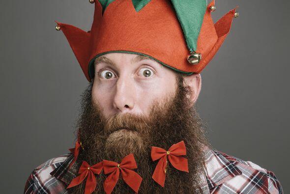 La encargada de esta singular decoración navideña es Steph...