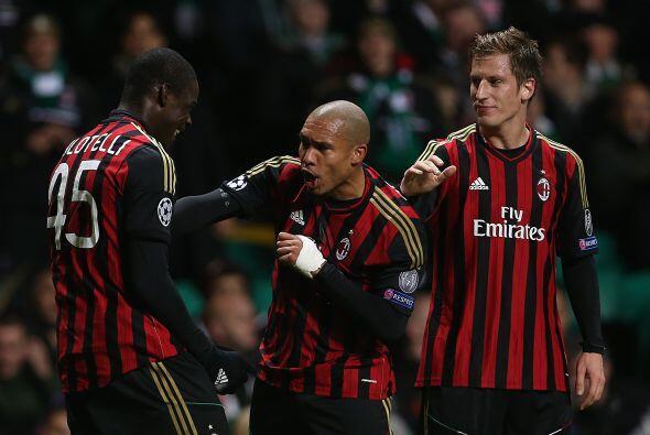Faltaba el gol de Mario Balotelli, con el que el Milan firmó el 3-0 final.