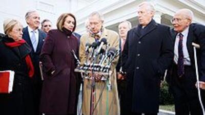 Demócratas insisten con el plan de reforma de salud, con o sin apoyo rep...