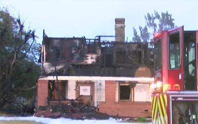 Investigan si un incendio en un asilo abandonado de Downey fue provocado