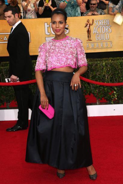 No nos fascinó el vestido de Prada de Kerry Washington, pero lo que sí n...
