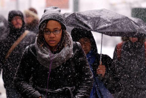 El Servicio Meteorológico Nacional emitió una advertencia de tormenta in...