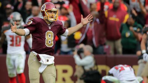 Redskins 31-30 Buccaneers: Cousins dirigió gran remontada de Washington...