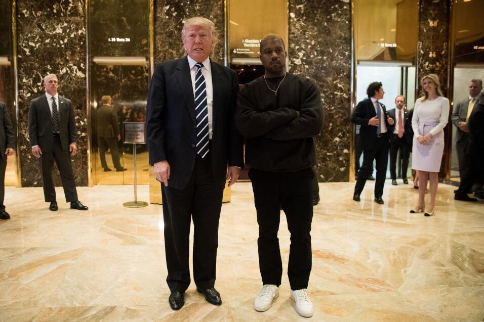 El 13 de diciembre del 2016 TMZ reportó que Kanye West se había reunido...
