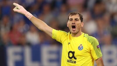 Iker Casillas, primer jugador en llegar a 20 temporadas en la Champions League