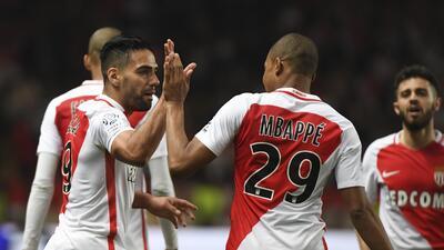 Monaco aplasta al Lille y es 'virtual campeón' de la liga francesa
