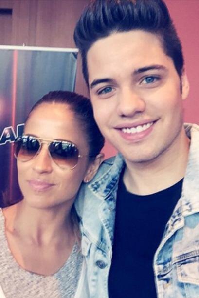 'Que me encuentro con la hermosa Jackie Guerrido aquí en #PuertoRico', c...