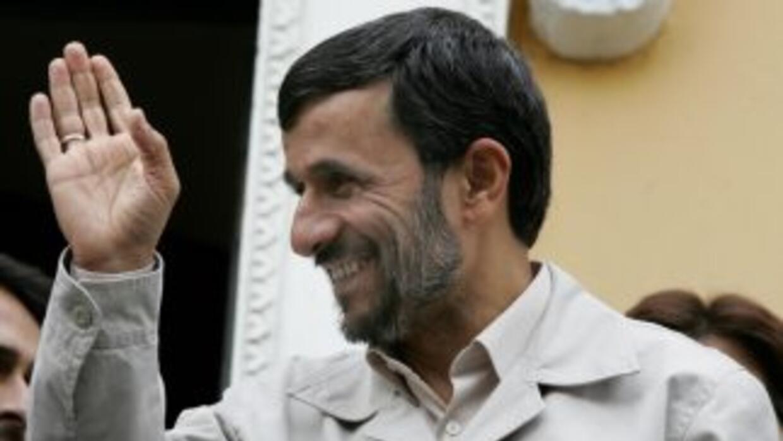 El presidente iraní,Mahmud Ahmadineyad dijo que México es otra de las n...