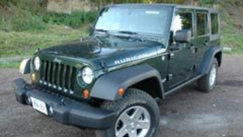 El Jeep Wrangler Rubicon Unlimited 2011 es el mejor para el off-road. fb...