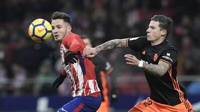 Atlético dejó hasta los dientes por vencer al Valencia