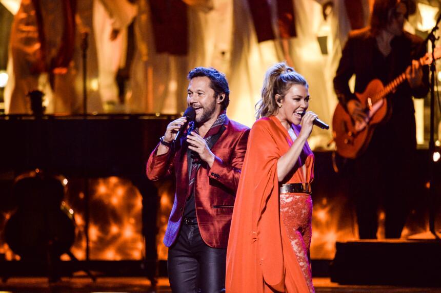 Rachel Platten y Diego Torres