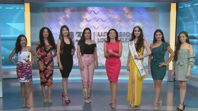 Celebran los 15 años del certamen Señorita Fiestas Patrias de México en Los Ángeles
