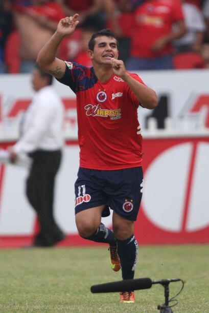 Daniel Quiñones marcó el primer gol apenas al minuto dos del partido sor...