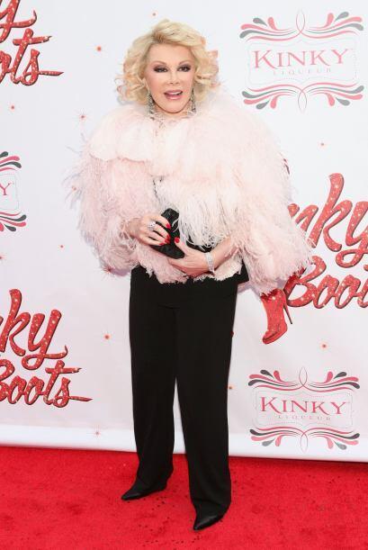 A sus 80 años, a Joan Rivers todavía le gusta estar a la vanguardia de l...