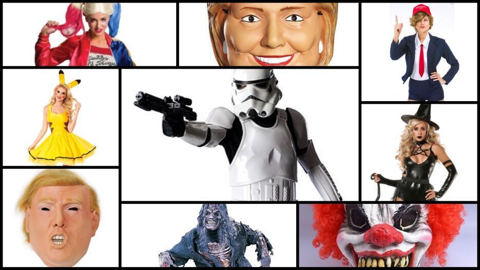 Los disfraces de Halloween más populares para adultos este año.