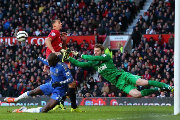 De Gea no pudo evitar que el Chelsea le empatara a los 'Red Devils' lueg...