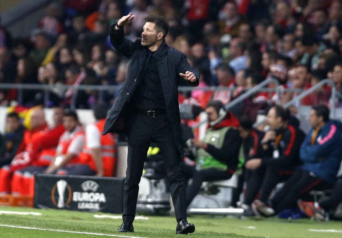 Con este triunfo, el Atlético va con ventaja a Lisboa la proxima semana...