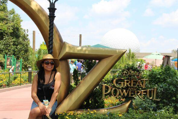Aileen Ocana Disfrutó del mundo mágico donde los sueños se hacen realida...