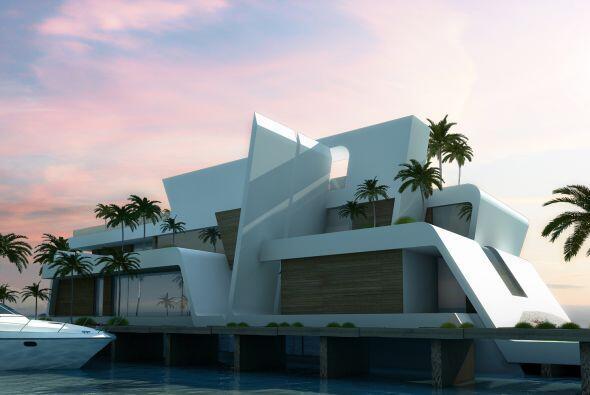 Ésta es la casa que el arquitecto Joaquín Torres hizo para Madonna en Du...