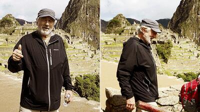 Robert de Niro visitó Machu Picchu, donde recibió un importante reconocimiento