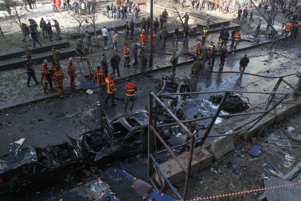 Líbano ha vivido una ola de atentados en los últimos meses, mientras aum...